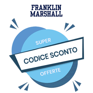 huge discount d949c 4c660 Codice Sconto Franklin & Marshall Coupon Promozionale ...